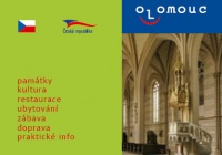 New version of Olomouc informational fliers for summer 2007