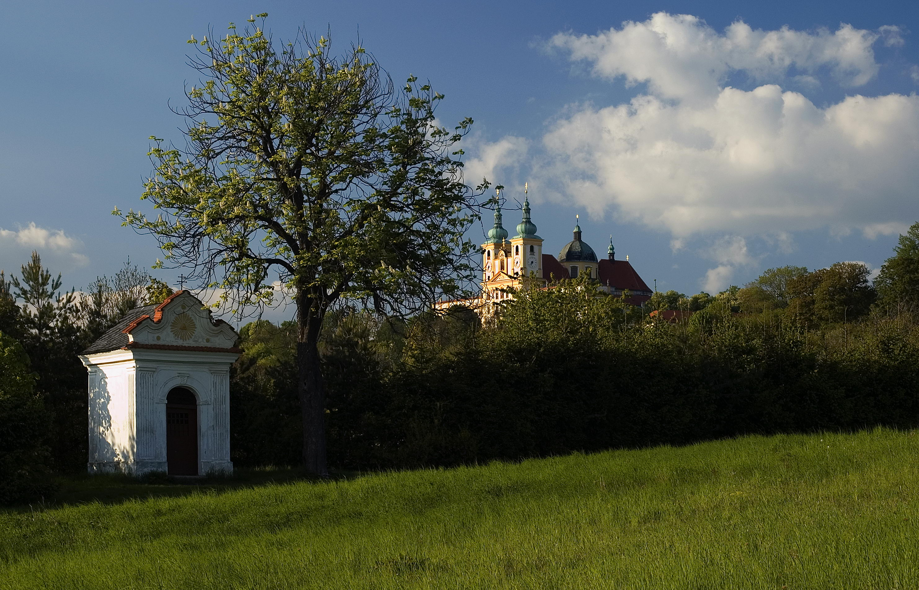 The Holy Hill near Olomouc