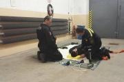 Výcvik Pořádkové jednotky Městské policie Olomouc