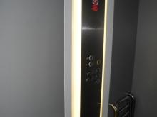 Výtah (levé křídlo od hlavního vchodu) kabina