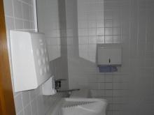 WC podkroví (levé křídlo od hlavního vchodu) prostory předsíně